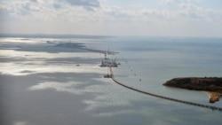 Нидерландцы на строительстве Керченского моста   Радио Крым.Реалии