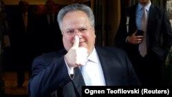 Грчкиот министер за надворешни работи Никос Коѕијас
