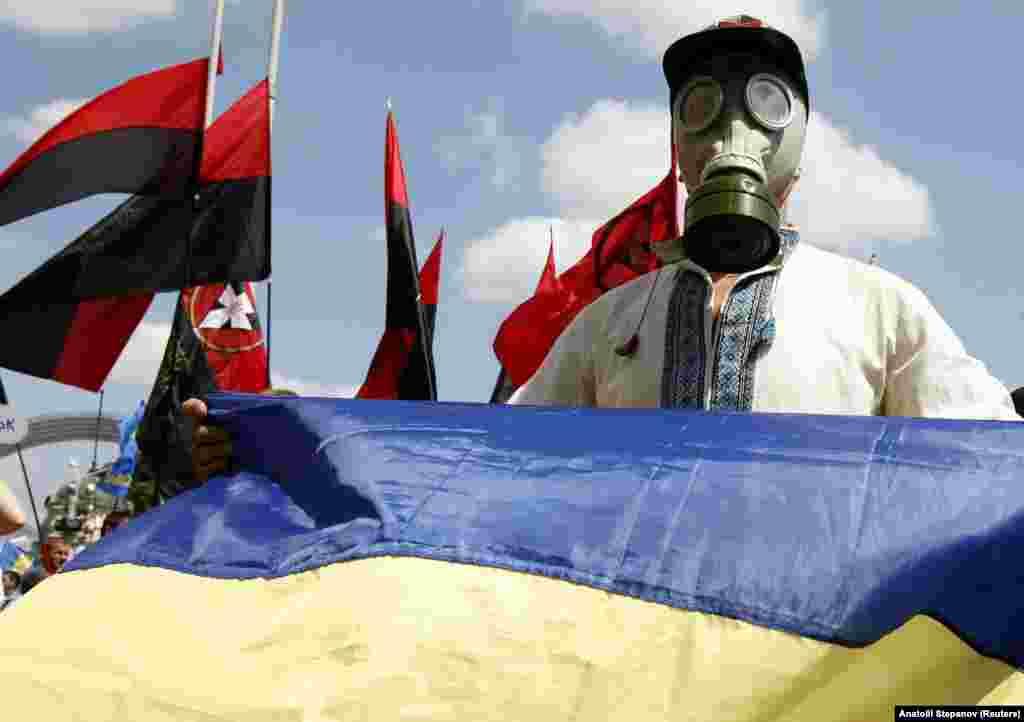Третій день «Мовного майдану». Київ, 5 липня 2012 року