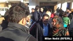 Tawakkol Karman sa izbeglicama u Adaševcima