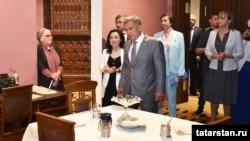 Татарстан президенты Әдәбият музеенда