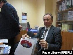 Александр Плясовских в Выборгском суде Петербурга. 11 марта 2013 года