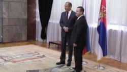 Lavrov i Dačić u Beogradu