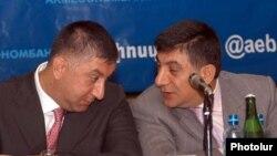 Հայաստան -- Հայտնի գործարարներ Սարիբեկ եւ Խաչատուր Սուքիասյանները, արխիվ