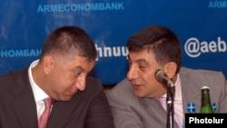 Братья Сарибек (слева) и Хачатур Сукиасяны