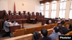 Armenia -- The Constitutional Court opens hearings on opposition presidential candidate Raffi Hovannisian's appeal, 11Mar2013.