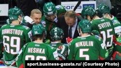 Орусия хоккейчилери.