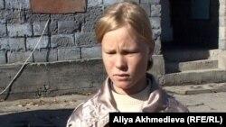 Елена Ткачева, бывшая работница фермы. Талдыкорган.