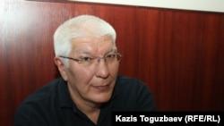 Бывший главный редактор информационно-сетевого издания Ratel.kz Марат Асипов.