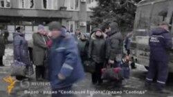 Дебальцово аҳолиси эвакуация қилинмоқда¸ уруш давом этмоқда