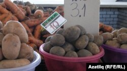 Crimea -- A scene from Simferopol market, market prices grow in Crimea. Simferopol, 6May2014