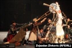 """Predstava """"Prosjačka opera"""", Narodno pozorište Sarajevo"""