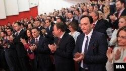 Владејaчката ВМРО-ДПМНЕ го одржува 15. Конгрес на партијата во Куманово.