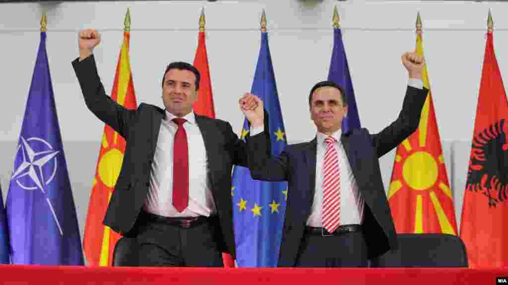 МАКЕДОНИЈА - Државната изборна комисија испрати барање за номинација на членови на избирачките одбори до Беса. Претседателот на ДИК, Оливер Дерковски, претходно рече дека со оглед на моменталната ситуација, местата на Беса треба да ги добие Алијансата за Албанците.