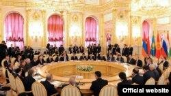 ЖККУнун Москвада өткөн жыйыны. 16-май, 2012-жыл.