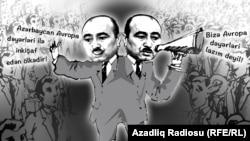 Əli Həsənov. Karikatura