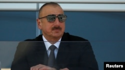 Azerbaijani President Ilham Aliyev has been criticized by international media groups for his harsh treatment of independent media outlets.
