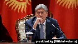 Экс-президент Кыргызстана Алмазбек Атамбаев.