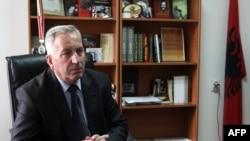 Jonuz Musliu, Kryetari i Këshillit Nacional të Shqiptarëve në Luginë të Preshevës.