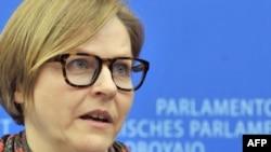 Heidi Hautala, head of the EU Parliament's subcommittee on human rights