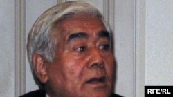 Кәсіпкер Қажымқан Мәсімов, қазақ үкіметінің басшысы Кәрім Мәсімовтің әкесі. Алматы, 21 желтоқсан, 2009 жыл.
