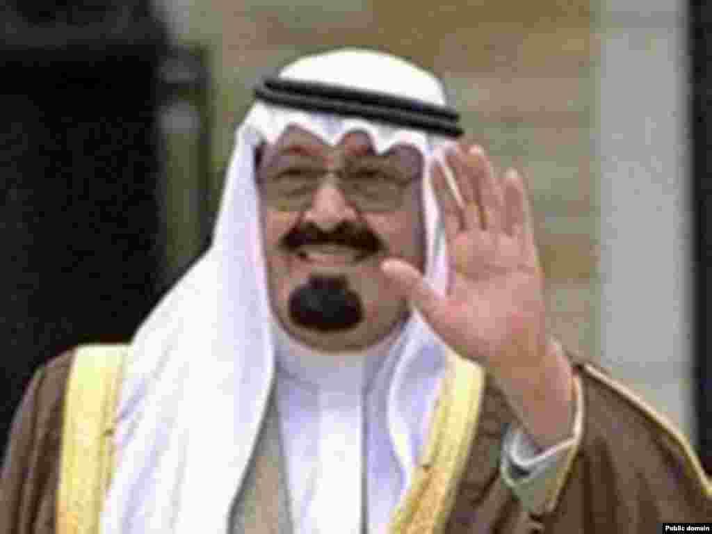 Улыбчивый король. (Король Саудовской Аравии).