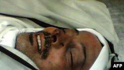 جسد محمود عبدالرئوف المبحوح که از دوبی به سوریه منتقل شده بود.