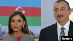 Ադրբեջանի նախագահ Իլհամ Ալիևն ու երկրի առաջին տիկին Մեհրիբան Ալիևան, արխիվ