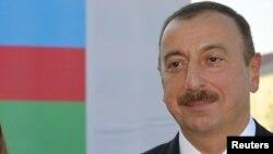 Ильхам Алиев, президент Азербайджана. Баку, 7 октября 2011 года.