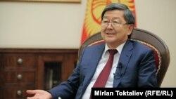 Жанторо Сатыбалдиев, премьер-министр Кыргызстана в 2012-2014 годы.