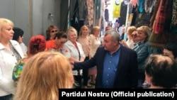Nicolai Grigorişin în campanie la piaţă