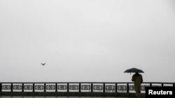 Дощовий день у центрі Києва