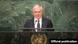 И.о. министра иностранных дел Армении Эдвард Налбандян