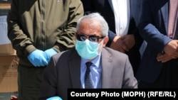 د افغانستان عامې روغتیا وزیر فېروزالدین فېروز