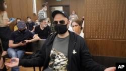 Kiril Serebrenikov în tribunalul din Moscova, 26 iunie 2020.