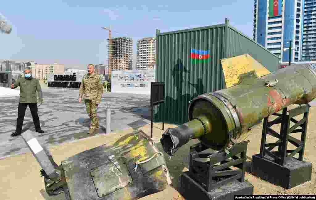 «Откуда эти ракеты у армянской армии? Их не должно было быть», – заявил Алиев