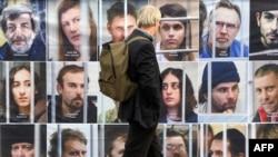 Фотографии задержанных в России активистов Greenpeace