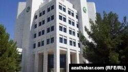 'Türkmenhowaýollarynyň' edarasy, Aşgabat