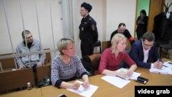 На одному із засідань суду у справі Максима Панфілова