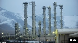 A heavy-water reactor facility in Arak, Iran