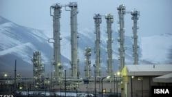 A heavy-water reactor facility in Arak, Iran