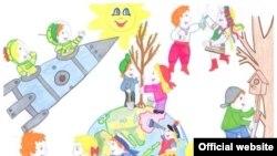 Малюнок переможниці конкурсу Олі Чумаченко