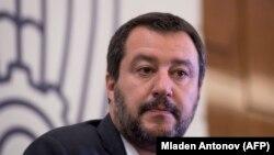 Zëvendëskryeministri italian, Matteo Salvini.