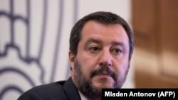Mateo Salvini, lider Lige za sever i ministar unutrašnjih poslova