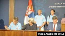 Potpisivanje sporazuma u Beogradu