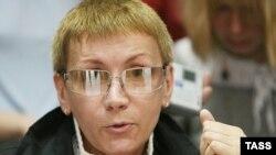 Лидер Лесбийского движения России Евгения Дебрянская