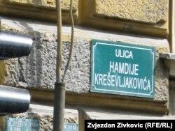 Dobrovoljačka danas nosi ime Hamdije Kreševljakovića