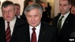 Премьер-министр Украины Юрий Ехануров в Варшаве 16 февраля