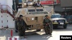 Афганські солдати на позиції у Кундузі, 28 вересня 2015 року