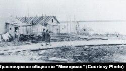Поселок Ермаково. 1951 год